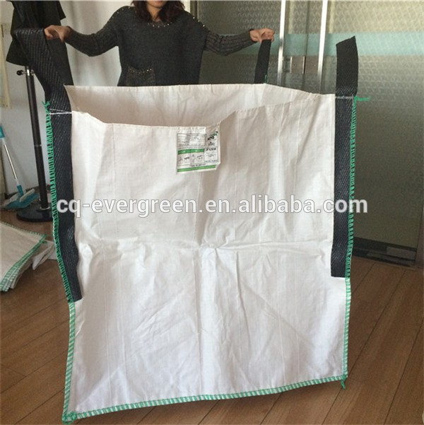 tubular big bag/ PP jumbo bag scrap for resin sand/pp super sacks