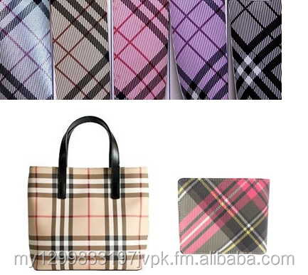 PVC and PU Leather for Bags, Key Holders, Decorative Items and Notebooks