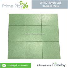 Affordable Price Playground Rubber Mats in different green and thickness options