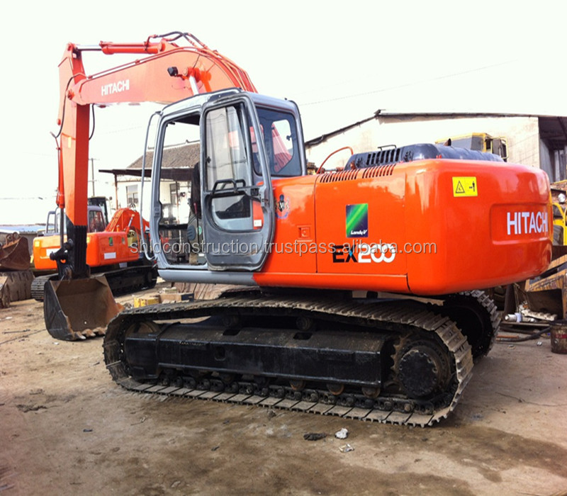 Used Japanese Hitachi EX200 Excavator, Hitachi EX60/ EX120/ EX200/ZX200 for sale