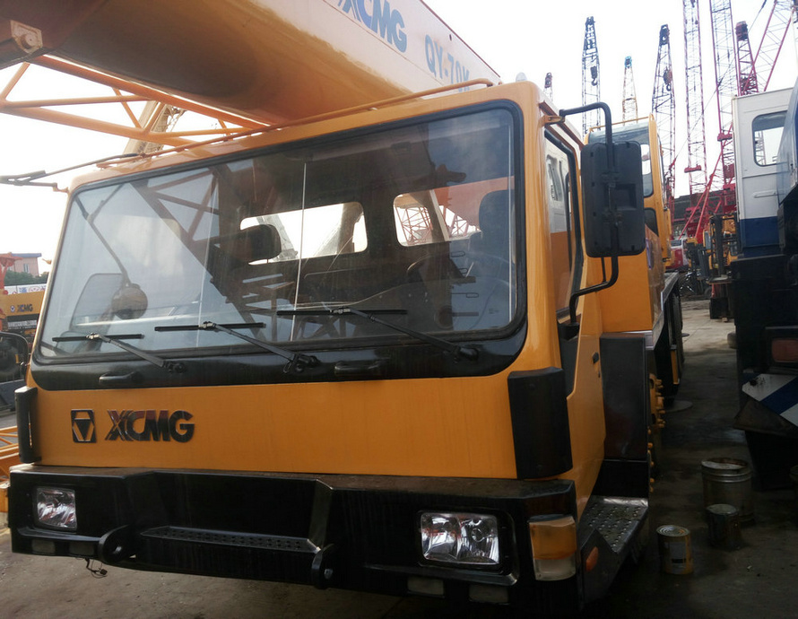 Used XCMG 50ton QY50K-I truck 100% made ni china crane belt for sale