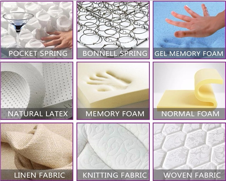 Customized Fabric Natural Latex Coconut Palm Foam Mattress - Jozy Mattress | Jozy.net