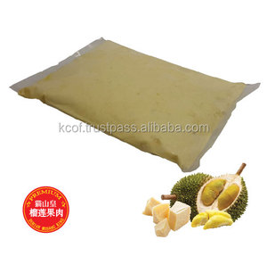 Baked Stable Premium Durian Pizza Cream Cheese with Malaysia Musang King Durian Flesh