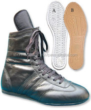High Top Boxing Boots / Full Long Boxing Shoes / Custom Made Leather Boxing Shoes
