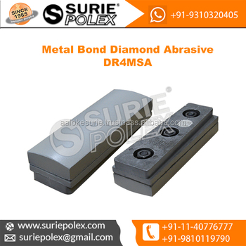 DR4MSA Fickert Metal Bond Aluminium Shoe