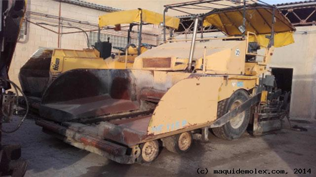 DEMAG Asphalt machine, second hand