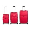 Travel Bag - Set of 3 - Burgundy / Red - SKU: ZH-04-006