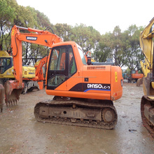 Construction finished Used Doosan crawler excavator DH150LC-7