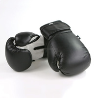 PU BOXING GLOVE BLACK