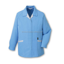 Eco smocks, made with antistatic and low dust fabric. Made by Japan