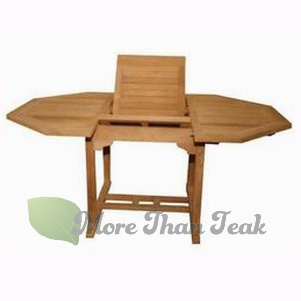 OCTAGONAL EXTENDING TABLE 1. Single face corrugated paper 2. Carton box with protection all are option base on requirements and