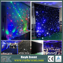 2017 China photos led curtain display light emitting fabric light for stage decoration