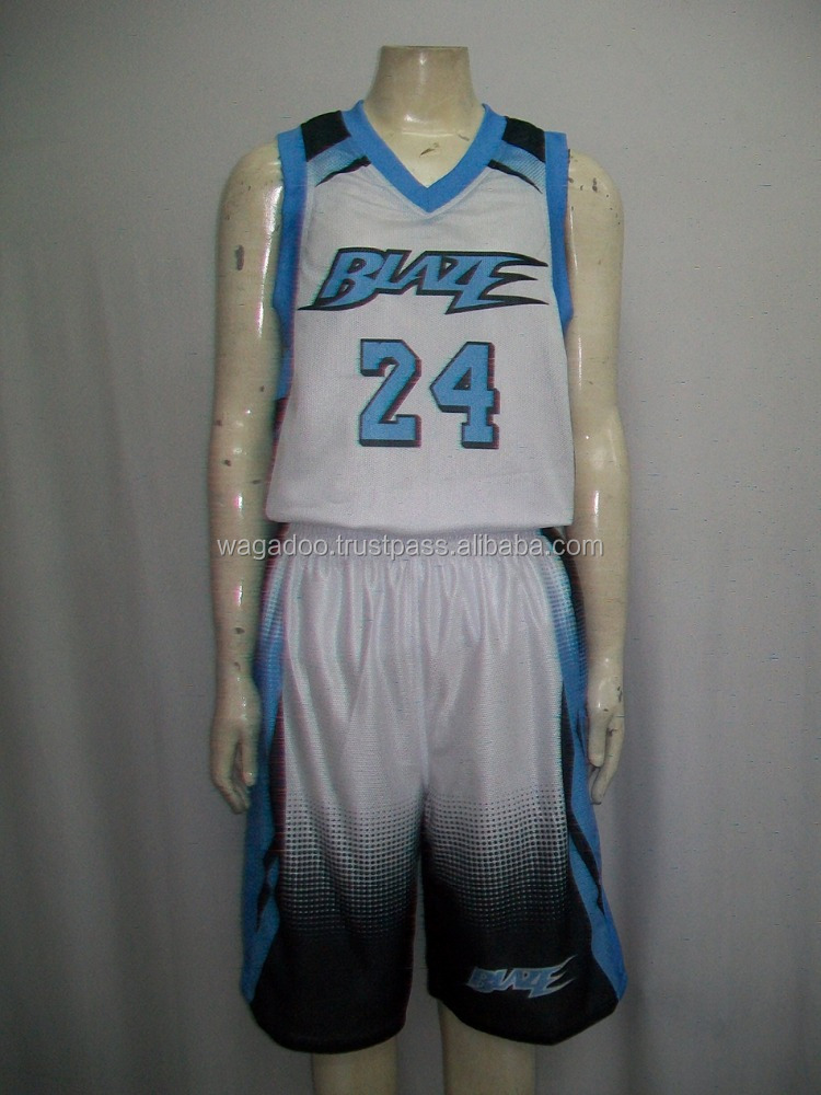 Easy Basketball Uniform Design