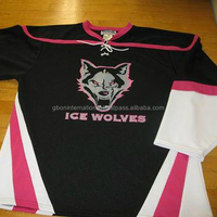 design custom make personalized your own team ice hockey jerseys Professional high quality team hockey, ball game jersey ,