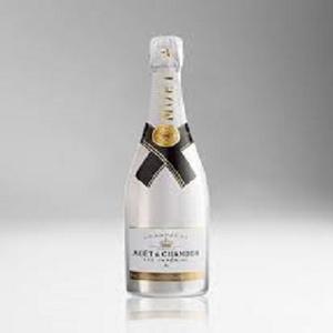 Wine champagne moet chandon