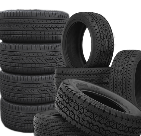 Used car tires from Europe