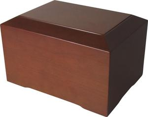 High Quality Wood Cremation Urn With High Quality Finishing