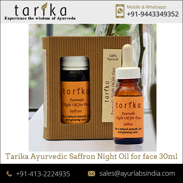 Daily Facial Saffron Anti Aging Serum at Best Price
