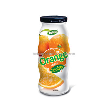 OEM Fruit Juice 330ml Canned Orange Juice