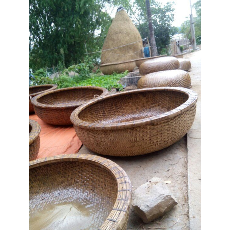 Bamboo Coracle Boat For Traveling On River Or Sea With High Quality Vietnam