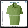 Latest design ladies jersey golf polo collar plain t shirt Cheap price