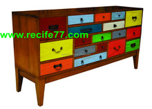 Drawer mahogany antique furniture