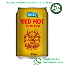 Vietnamese manufacturer Tan Do energy drink