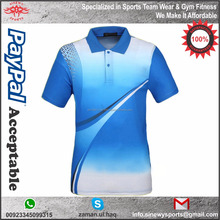 Promotional Custom Breathable Sublimation Design Quality Polo Shirt