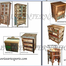 reclaimed wood furniture , recycled wooden furniture india