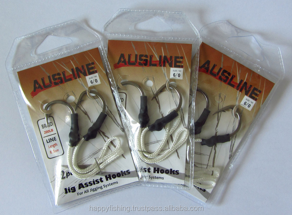 Fishing Hooks Named Jig Assist Hook in Different Sizes For Fishing Special Offer