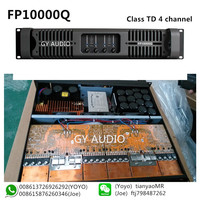 Class TD four-channel touring-grade power amplifer FP10000Q