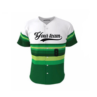 Baseball jersey rugby jersey