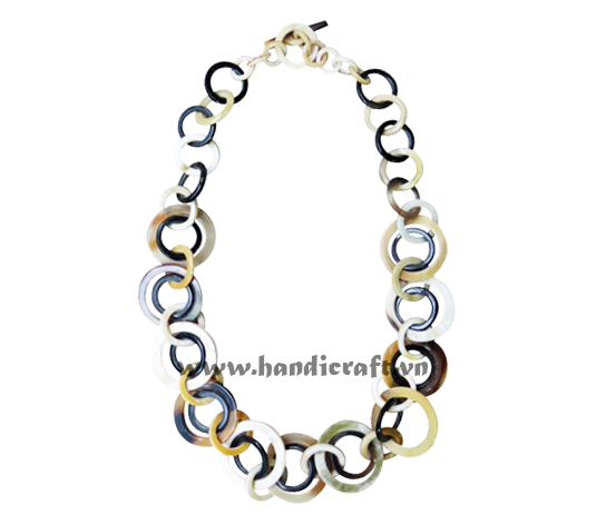New design buffalo horn jewelry, horn necklace made in Vietnam HD10462