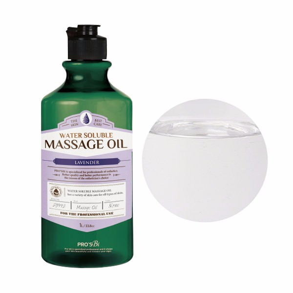 Pros'bi Water-soluble Massage oil lavender 1L [ professional ]