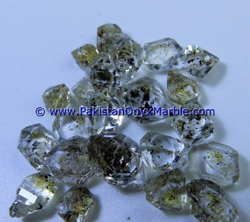HIGH QUALITY HERKIMER DIAMOND QUARTZ CRYSTALS NATURAL RAW ROUGH AA GRADE GEMSTONE