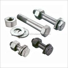 hex bolts and nuts fastener