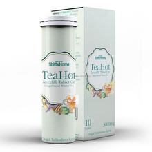 Instant Hot Tea Drink TeaHot Brand Ginger Effervescent Water Soluble Teas The Te Chai ...