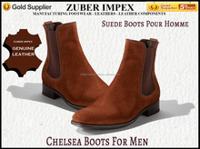 Hot Suede Chelsea Boots for Men - High quality leather - Trending Design - Stylish Shoes - Shoe Manufacturer