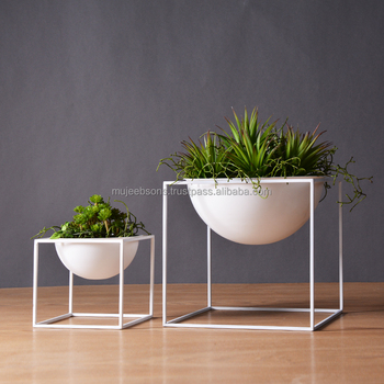 Planter Stand For Your Daily Freshness- Flower Vase cum Planter