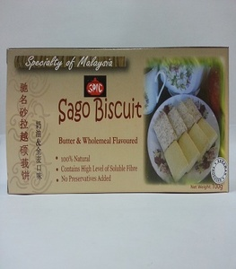 Sarawak Specialty Sago Biscuit Butter & Wholemeal Flavoured