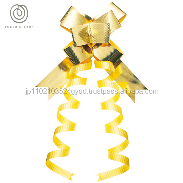 Japanese and Tasteful accessories parts one-touch ribbon for Happy event , saten ribbon also available