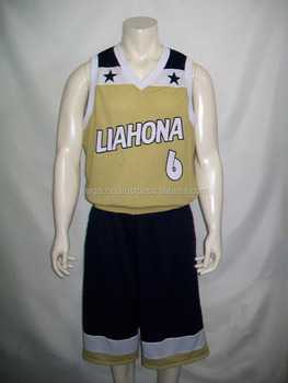 OEM new design basketball jerseys kit
