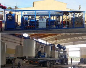 Made in Turkey Lube Oil Recycling Plant
