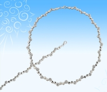 925 Silver Jewellery Set - Necklace & Bracelet set for Women
