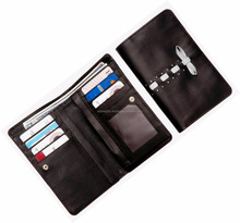 Women Fashion Bifold Wallet Leather Card Holder Purse /cheap ladies hand pars/ Black lady wallets