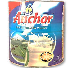 Anchor Full Cream Milk Powder - 2500g
