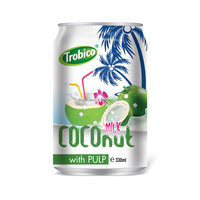 330ml Coconut Milk With Pulp From