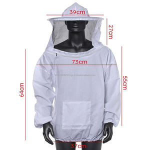 Beekeeper Jacket with Full Safety Feature Ultra Breeze round veil