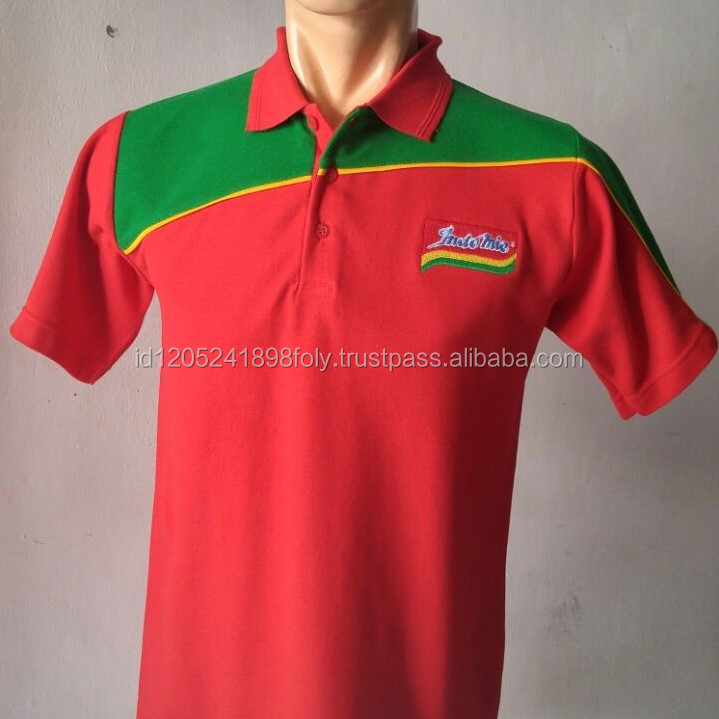 High Quality Polo Shirt for Casual or Uniform With Good Material Made In Indonesia