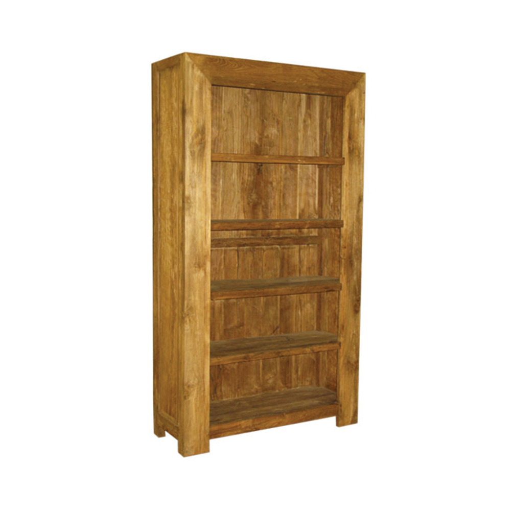 Best Seller Wood Bookcase with natural colour Living Room Furniture Teak Furniture Made in Indonesia